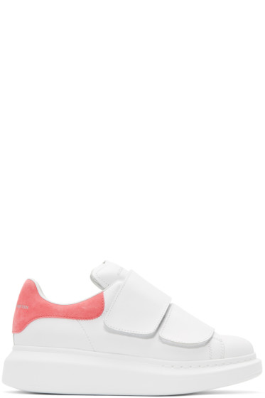 Alexander McQueen - White Straps Oversized Sneakers