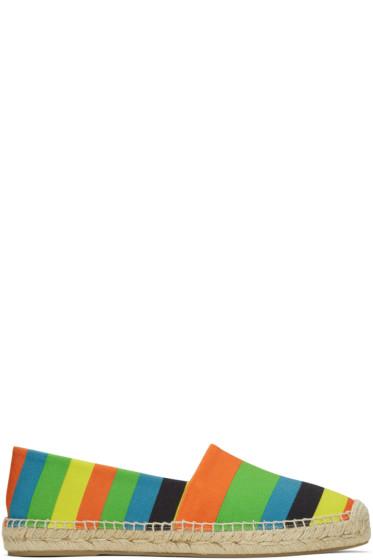 Paul Smith - Multicolor Striped Sunny Espadrilles