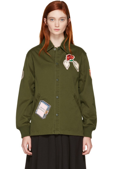 Opening Ceremony - Green Gestures Coach Jacket