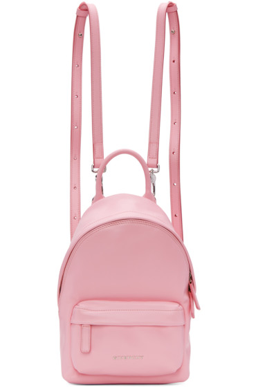 Givenchy - Pink Nano Leather Backpack