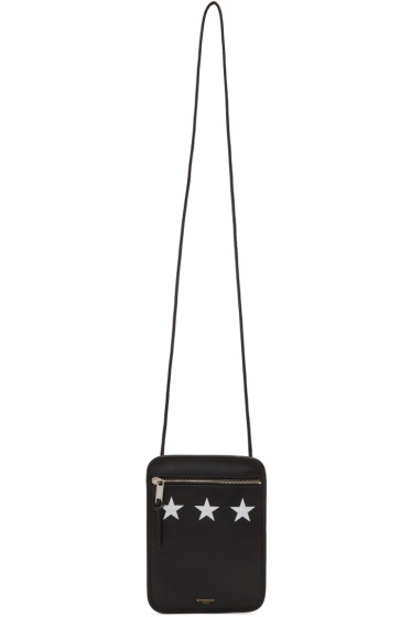 Givenchy - Black Small Triple Stars Pouch