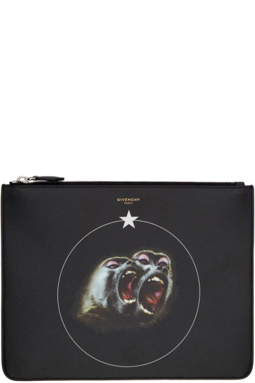 Givenchy - Black Monkey Brothers Pouch