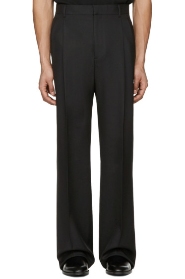 Givenchy - Black Wide-Leg Trousers