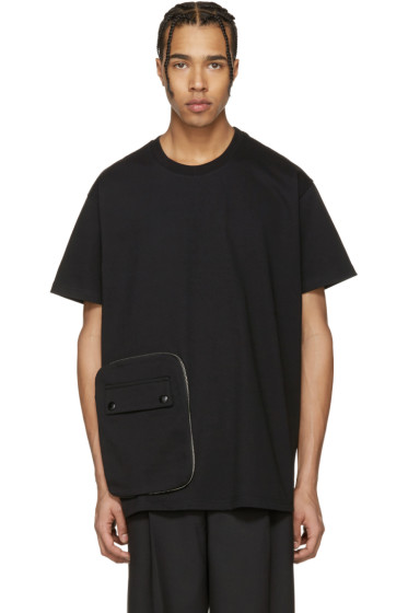 Givenchy - Black Detachable Pocket T-Shirt