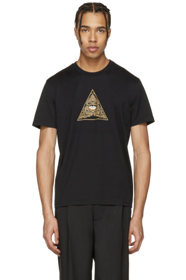 Givenchy - Black Pyramid Eye T-Shirt