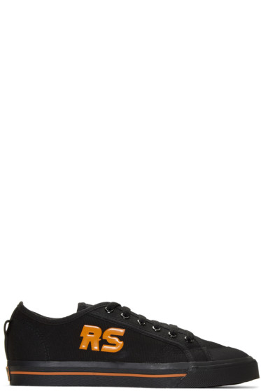 Raf Simons - Black adidas Originals Edition Spirit Low Sneakers