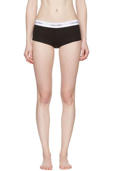 Calvin Klein Underwear - ブラック モダン ボーイ ショーツ