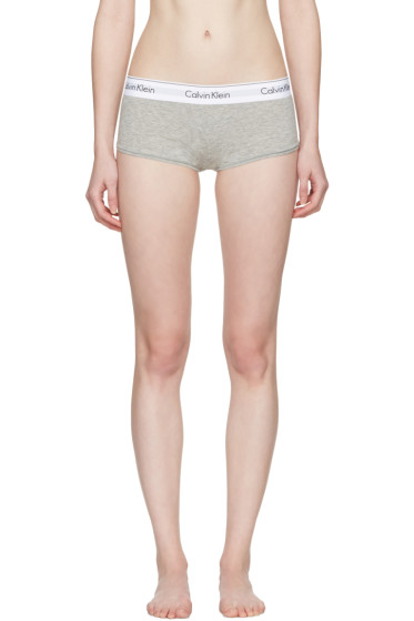 Calvin Klein Underwear - グレー モダン ボーイ ショーツ