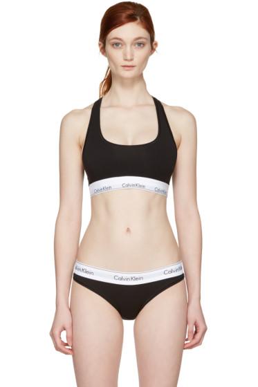 Calvin Klein Underwear - ブラック モダン ブラレット