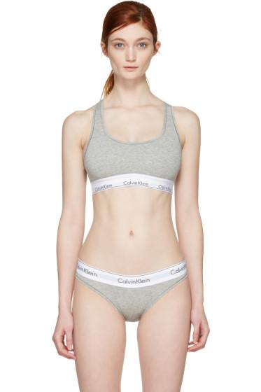 Calvin Klein Underwear - グレー モダン ブラレット