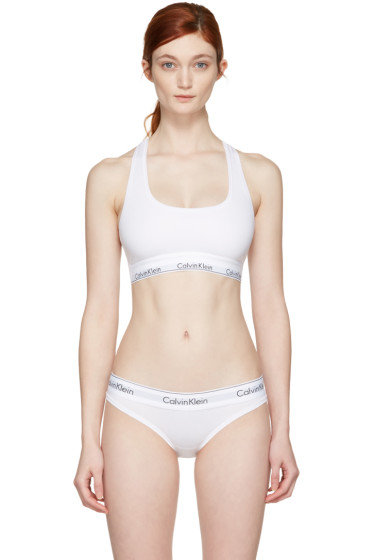 Calvin Klein Underwear - ホワイト モダン ブラレット