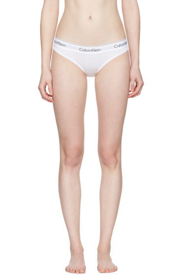 Calvin Klein Underwear - ホワイト モダン ビキニ ブリーフ