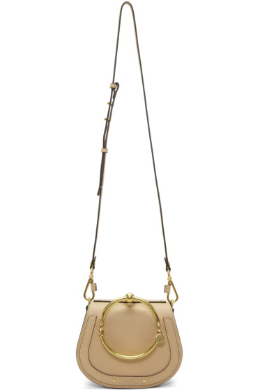 Chloé - ベージュ スモール ナイル ブレスレット バッグ