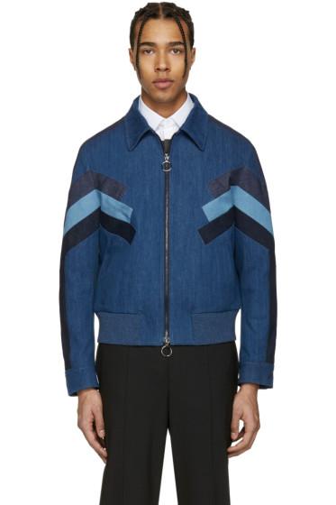 Neil Barrett - Indigo Denim Modernist Jacket