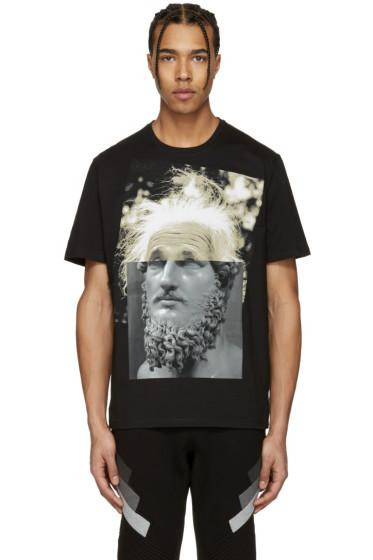 Neil Barrett - Black Einstein T-Shirt