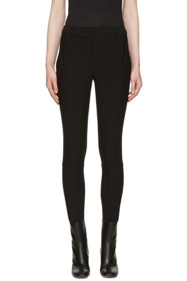 Burberry - Black Hasland Riding Trousers