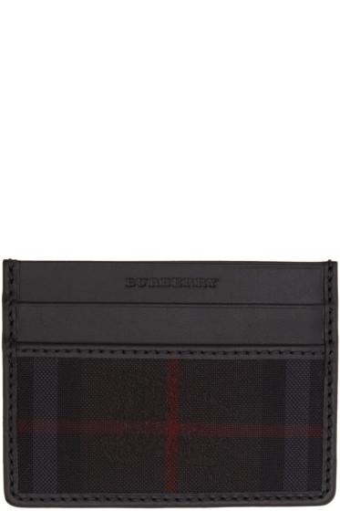 Burberry - Black Sandon Card Holder