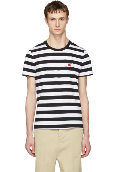 Burberry - Black Striped Torridge T-Shirt