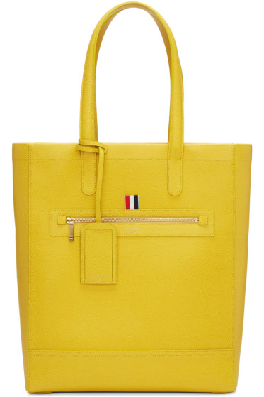 Thom Browne - Yellow Leather Tote