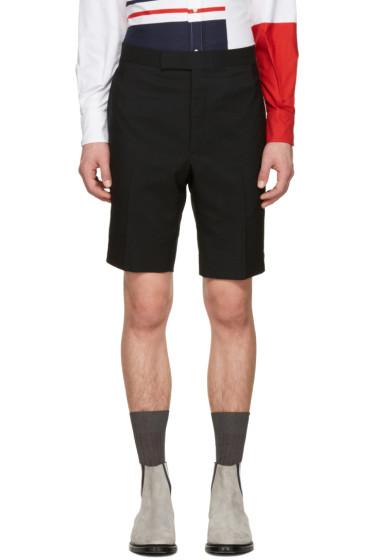Thom Browne - Black Classic Backstrap Shorts