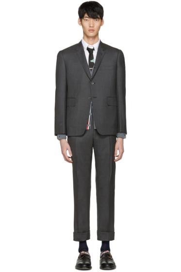 Thom Browne - グレー クラシック スーツ