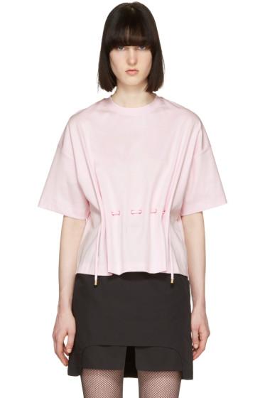Kenzo - ピンク ドローストリング T シャツ