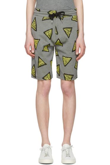 Kenzo - Yellow Bermudas Tech Lounge Shorts