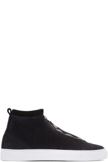 Diemme - Black Fontesi High-Top Sneakers