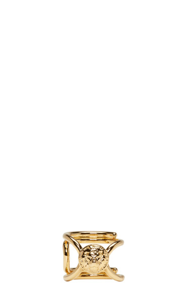 Versus - Gold Dainty Lion Ring