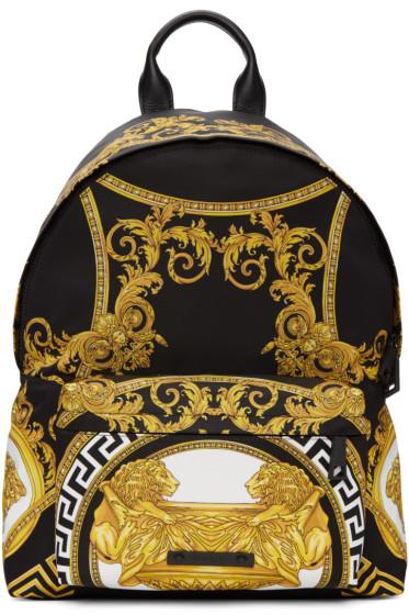 Versace - Black Coup De Dieux Backpack
