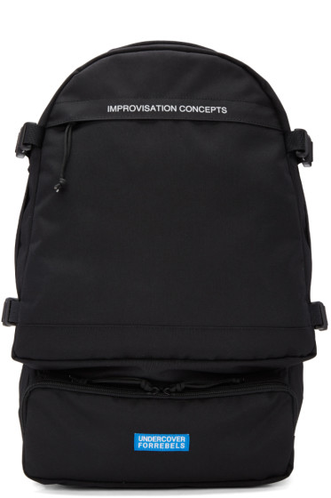 Undercover - Black Canvas Backpack
