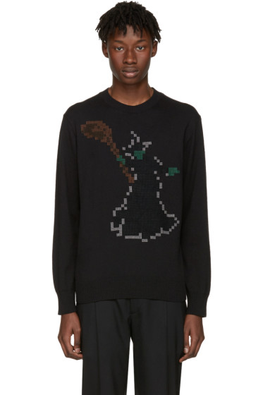Undercover - Black Pixel Witch Sweater