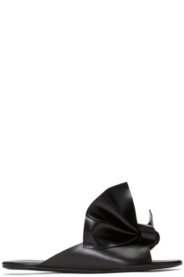 Cédric Charlier - Black Bow Sandals