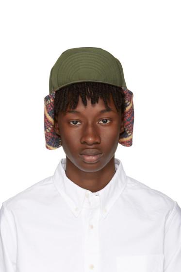 Visvim - Green Aviator Hat