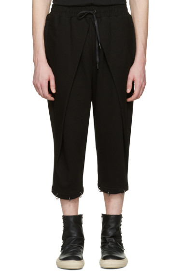 D.Gnak by Kang.D - Black Septum Rings Lounge Pants