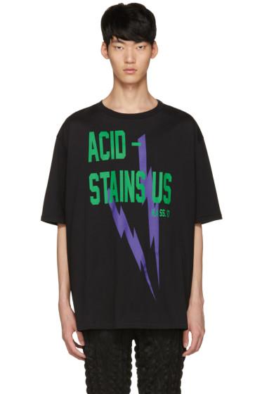 Haider Ackermann - Black 'Acid' T-Shirt