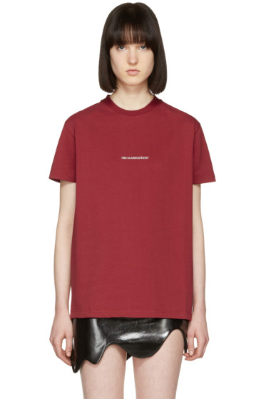 Hood by Air - Red '2007' T-Shirt