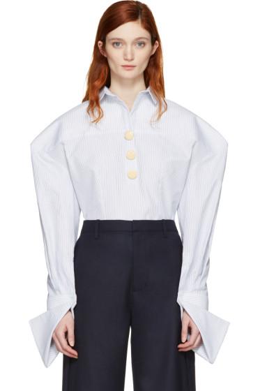 Jacquemus - ホワイト La Chemise Bouton シャツ