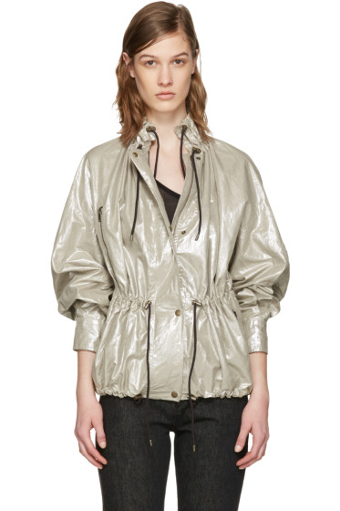Isabel Marant - Silver Lux Jacket