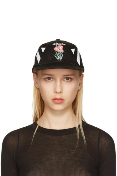 Off-White - Black New Flower Cap