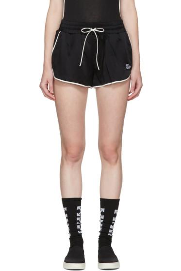 Off-White - Black Pyjama Shorts