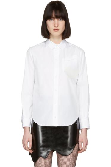 Toga - White Silicone Appliqué Shirt