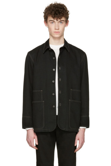 Lemaire - Black Denim Jacket