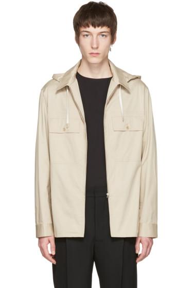 Lemaire - ベージュ シャツ ジャケット