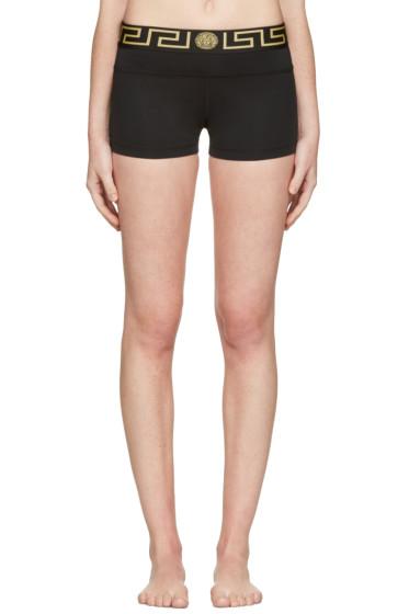 Versace Underwear - ブラック メドゥーサ ボーイ ショーツ