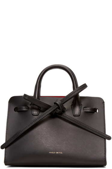 Mansur Gavriel - Black Leather Mini Mini Sun Tote