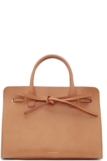 Mansur Gavriel - Tan Leather Mini Sun Tote