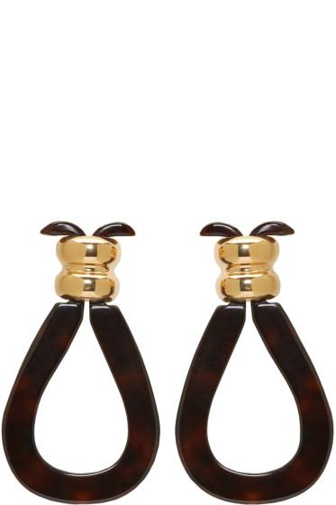 Loewe - Tortoiseshell Knot Earring
