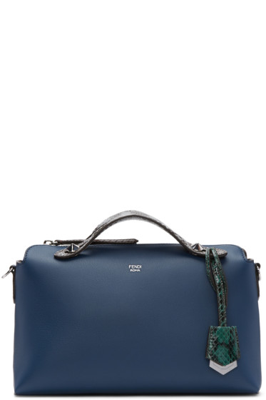 Fendi - Navy By The Way Boston Bag