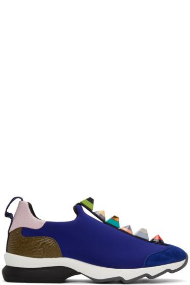 Fendi - Blue Rainbow Sneakers